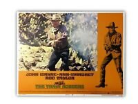"""THE TRAIN ROBBERS"" ORIGINAL 11X14 AUTHENTIC LOBBY CARD POSTER PHOTO 1973 WAYNE"