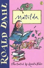 Matilda by Dahl, Roald Paperback Book The Cheap Fast Free Post