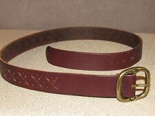 American Eagle Outfitters Brown Jeans Leather Belt Size Medium 36