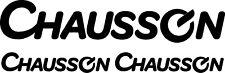 X 3 Chausson Caravane Camping car Décalco Autocollants Choix de Couleurs #1