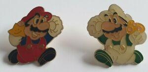 Lot De 2 Pin's Super Mario Bros Nintendo