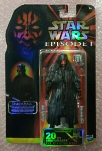Star Wars The Black Series Darth Maul Figure 20th Anniversary Celebration Moc