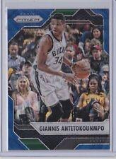 Panini Giannis Antetokounmpo Basketball Trading Cards
