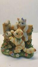 2000 Enesco Calico Kittens 720879 Just Hangin' Around figurine