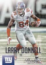 Larry Donnell  2015 Panini Prestige Football Sammelkarte, #43