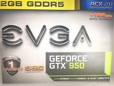EVGA NVIDIA GeForce GTX 950 SSC 2GB GDDR5 Pci Express 3.0 ACX 2.0