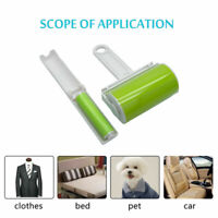 2PCS STICKY LINT ROLLER SET DUST REMOVER PET HAIR WASHABLE CLEANING REUSEABLE