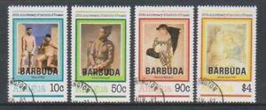 Barbuda - 1981, Picasso Birth Centenary set - F/U - SG 560/3