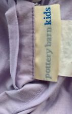 "Pottery Barn Kids Quilted Euro Throw Pillow Sham in Lavender, 24""x24"""