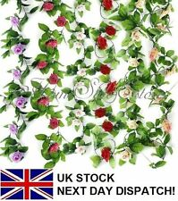 Unbranded Rose Dried & Artificial Flower Garlands