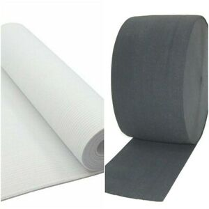 BEST QUALITY 6 Inch (150mm) Wide, Woven Elastic Black