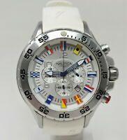 Orologio Nautica A24513 oversize watch 52 mm clock chrono montre men's reloj