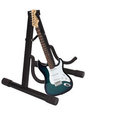 New Black A Type Frame Electric Folding Guitar Bass Stand Musical Instruments
