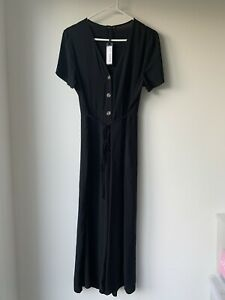 COTTON ON Women's Black JUMPSUIT Size SMALL BRAND NEW RRP $44.99