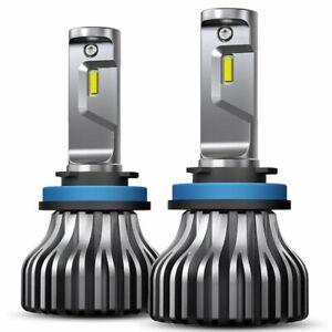 2X AUXITO H11 LED Headlight Kit Low Beam Bulb Super Bright Light 6000K 9000LM EC