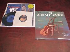 JIMMY REED AT SOUL CITY LIVE 180 Gram 2004 PRESSING LP + I'M JIMMY REED +RARE 45