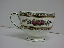 Wedgwood Columbia W595 Porzellan Tasse Kaffee Kaffeetasse Blumen Made England