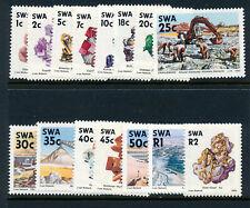 SOUTH WEST AFRICA 1989-90 DEFINITIVES SG519/533  MNH