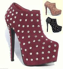 Zip Standard Width (B) Slim Heel Shoes for Women