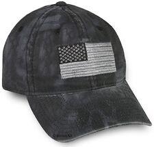 Kryptek Camo Americana Tonal Flag Cap, Typhon Black