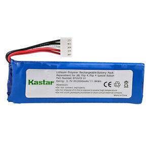 Kastar 3200mAh Battery for JBL Flip 4, Flip 4 Special Edition, JBL GSP872693 01