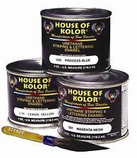 HOUSE OF KOLOR U10 ROYAL BLUE STRIPING AND LETTERING ENAMEL (4 OZ.) (HOK-U10)