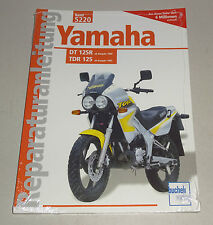 Reparaturanleitung Yamaha DT 125 - ab 1990 / Yamaha TDR 125 - ab 1993!