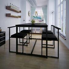 Conjunto de mesa de comedor y sillas 5 piezas varios colores