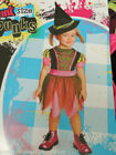 TODDLER HALLOWEEN  COSTUME SIZE (2 T )  PINT SIZE PUNKS * PUNKY WITCH* NWT
