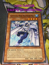 OCCASION Carte Yu Gi Oh NEO-BUBBLEMAN, HEROS ELEMENTAIRE DR04-EN014 ANGLAIS