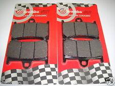 4 PLAQUETTE DE FREIN BREMBO 07077 AVANT YAMAHA 500 T-MAX 2008 2009 2010 2011
