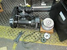 Dumore Model 55-011 Lathe Toolpost Grinder 1/2 hp with (3) Spindles
