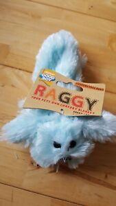 Good Boy - Soft Plush Blue Raggy Puppy / Small Dog Toy