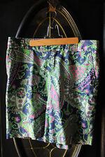 Lilly Pulitzer Royal Poinciana Paisley Bermuda Shorts
