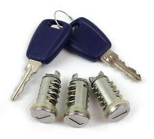 Fiat Punto ab 1999 Satz Schließzylinder 2 Schlüssel Türschloss Schloss 71751550