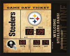 Pittsburgh Steelers Bluetooth Scoreboard Wall Clock Free Shipping