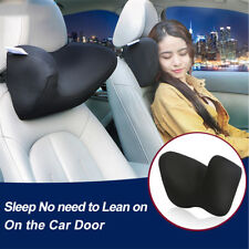 Car Auto Memory Foam Pillows Seat Head Neck Headrest Rest Cushion Home Office(Fits: More than one vehicle)