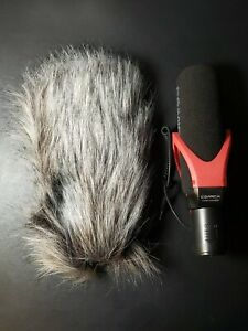 Comica CVM-V30 PRO Camera Microphone Electric Super-Cardioid Directional RED