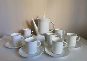 "Vintage Rosenthal ""Gala"" 15 Piece Coffee Set"
