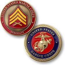 NEW USMC U.S. Marine Corps Sergeant Challenge Coin.