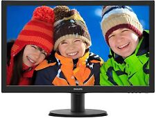 "Philips 23.6"" FHD LED LCD Computer PC Monitor 1920x1080 16:9 8MS HDMI DVI VGA VA"