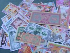 Lot of 61 mostly different Chinese Hell Money ..Temple Money..some duplication.