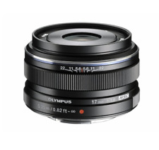 Olympus M.Zuiko 17mm f/1.8 AF Camera Lens For Micro Four Thirds Black
