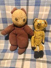 New Listing2 Antique primitive Stick? Teddy Bears