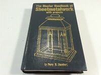 Master Handbook of Sheetmetalwork With Projects by Blandford 1981 First Edition