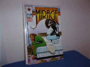 VINTAGE (NEW) VALIANT COMIC DOCTOR MIRAGE..DOMESTIC TROUBLE  #3..1993.....#268