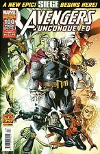 AVENGERS UNCONQUERED # 34 / MARVEL / PANINI COMICS / AUG 2011 / N/M - 100 PAGES!