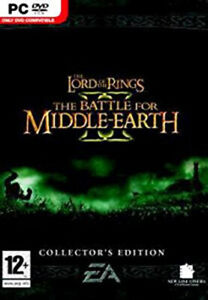 Lord of the Rings The Battle for Middle Earth II Collector's Edition (PC GAME)