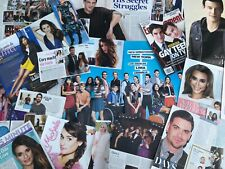GLEE Clippings POSTER Lea Michele Chris COLFER Cory Monteith Matthew Morrison