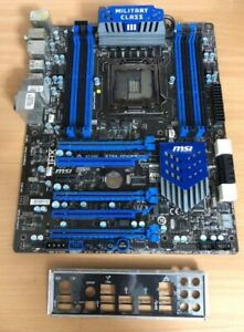 MSI Military Class iii X79A-GD65(8D) motherboard TESTED Working Good F/S